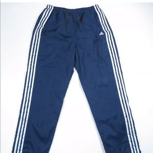 Adidas Spell Out 3 Stripes Windbreaker Track Pants